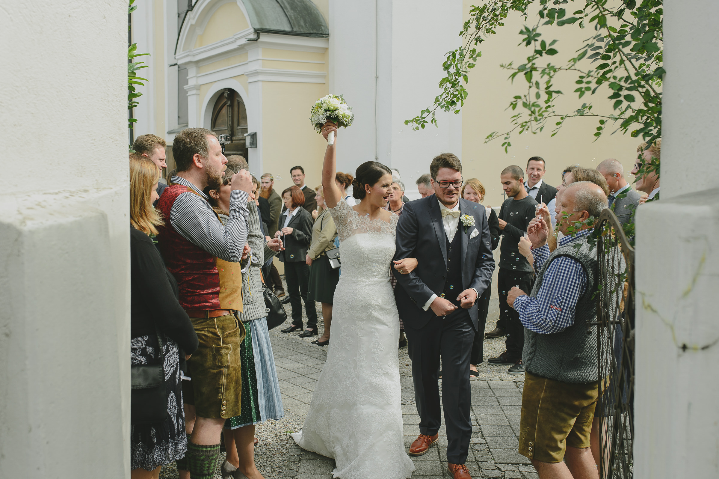 Bavarian Traditions at the Wedding