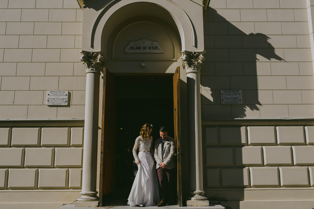 international Wedding Ceremony in Sighisoara