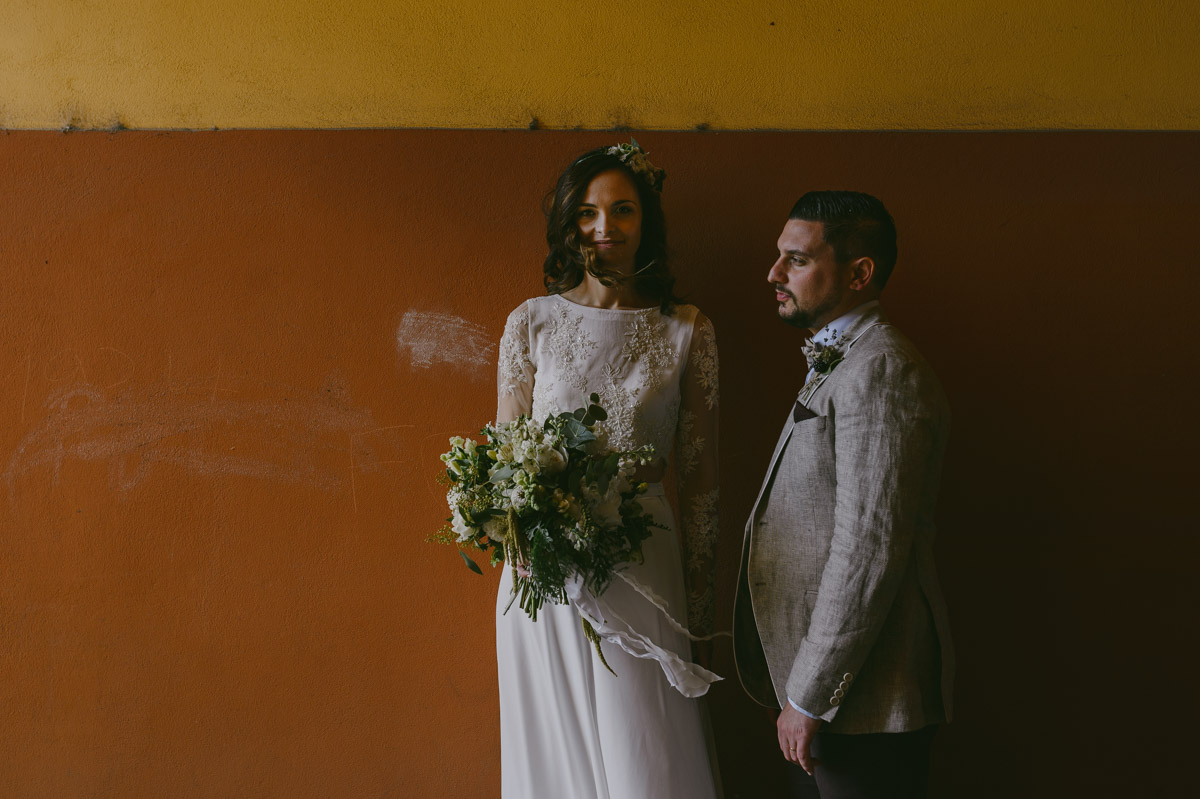 Wedding Day Photo Session in Sighisoara Transylvania Romania