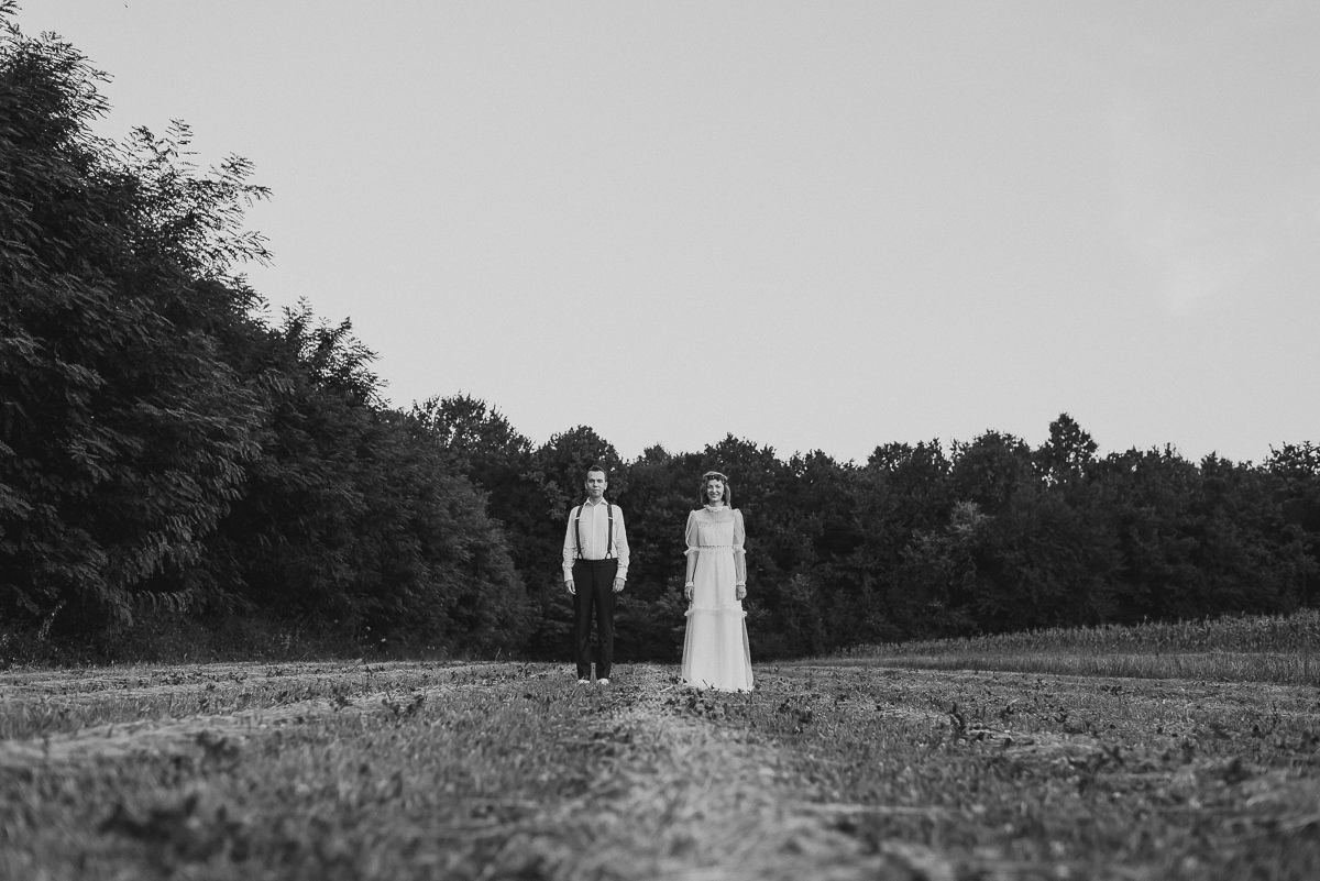 Small Intimate Wedding Portrait