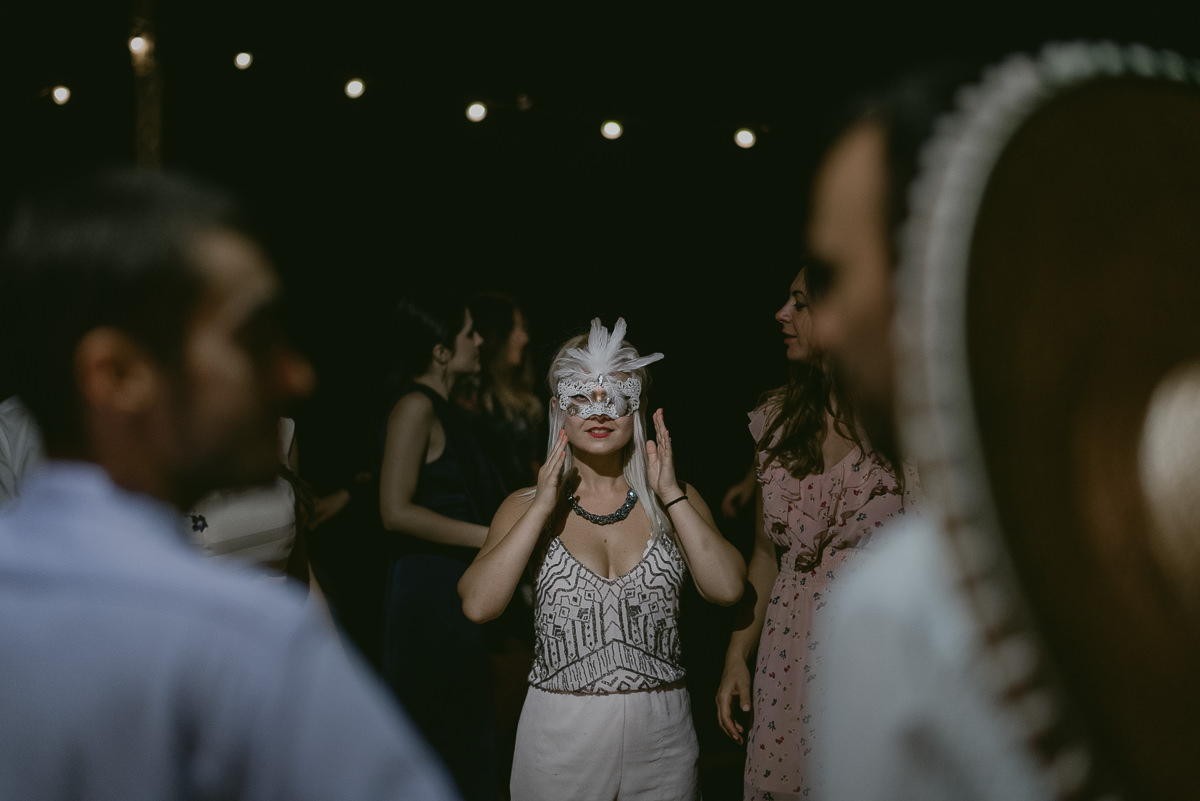 carnival wedding mask