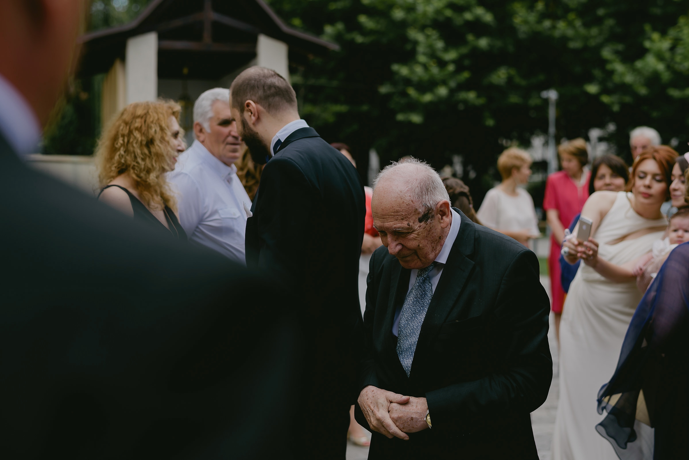 old man at wedding