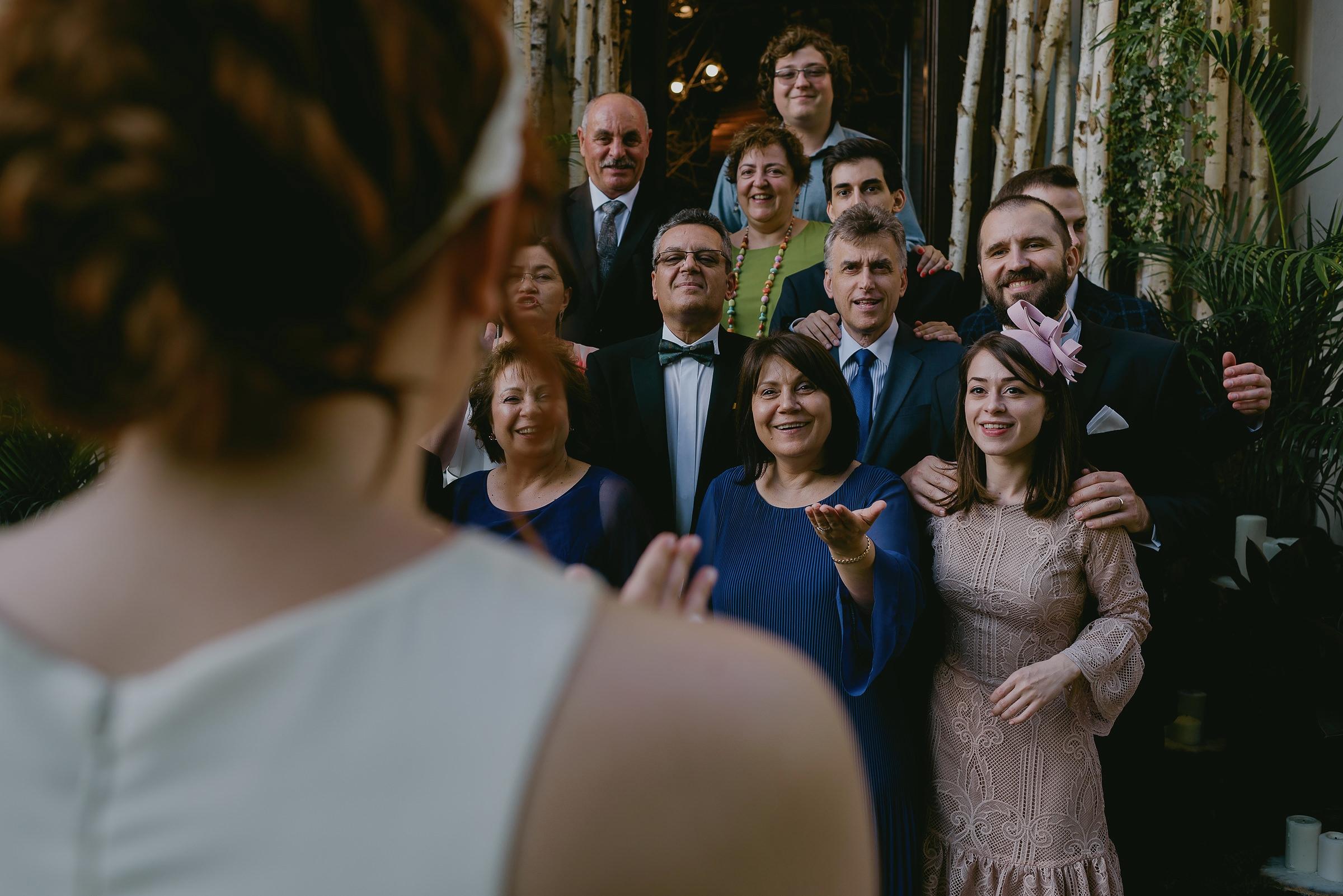 portret de grup la nunta