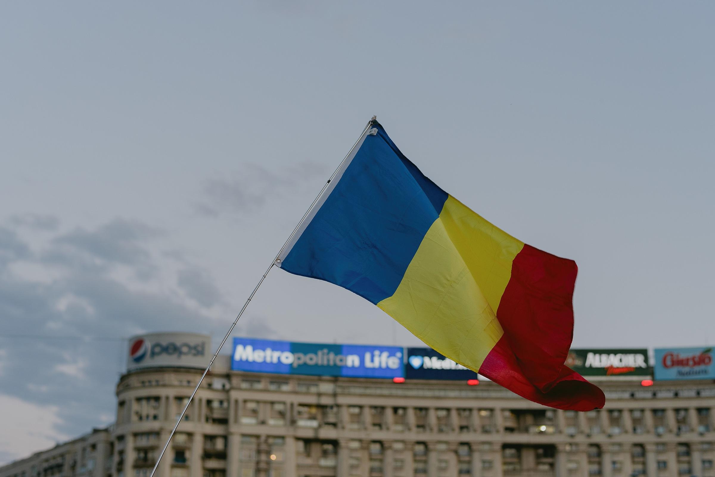 romanian's flag