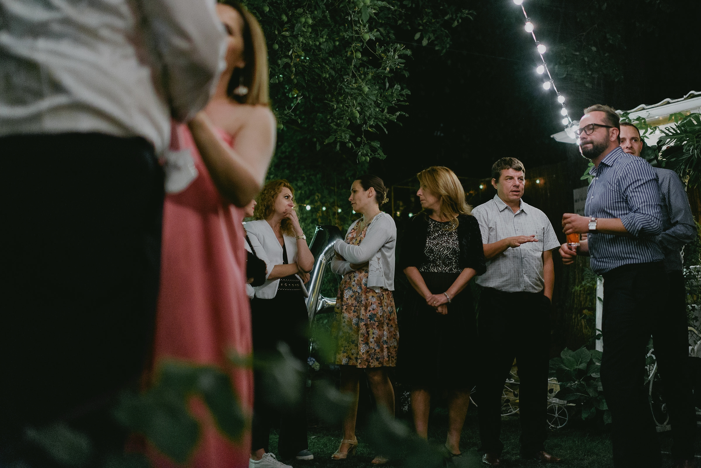 night Garden Wedding bucharest