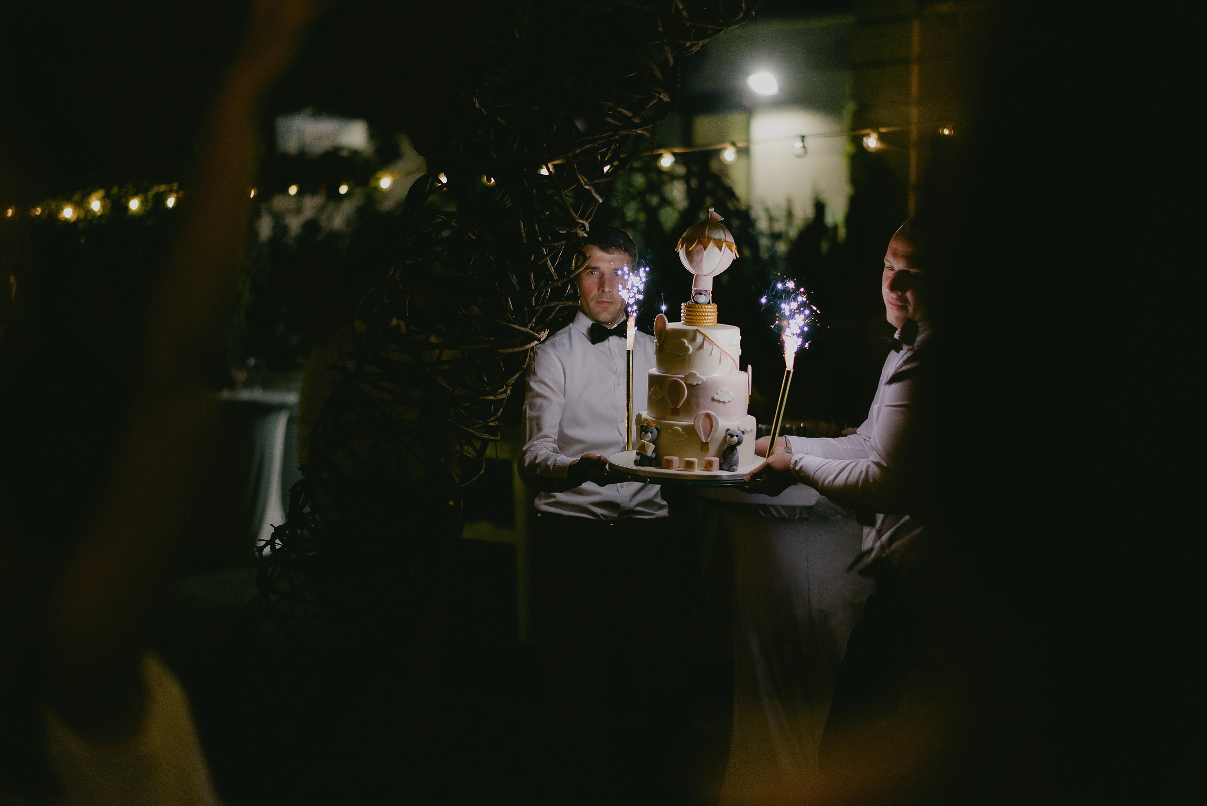 bucharest weding cake