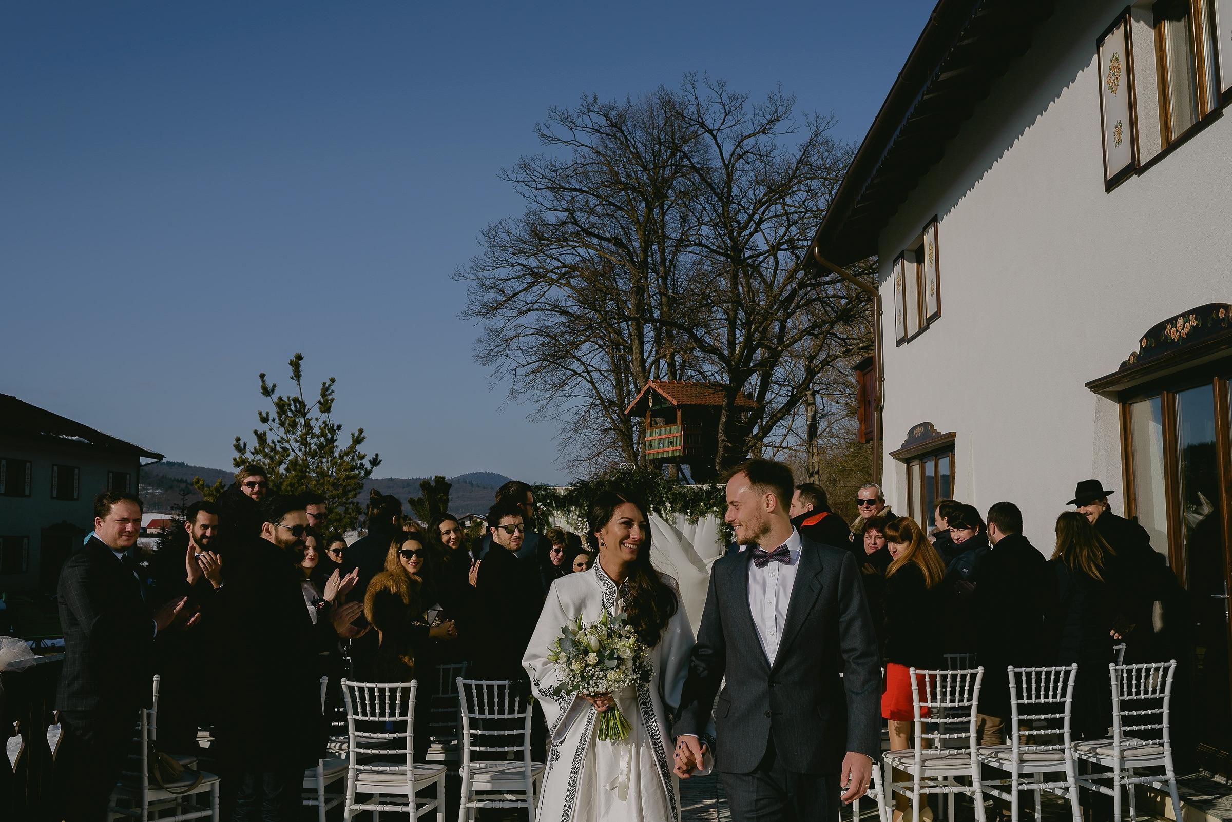 Nunta De Iarna In Transilvania